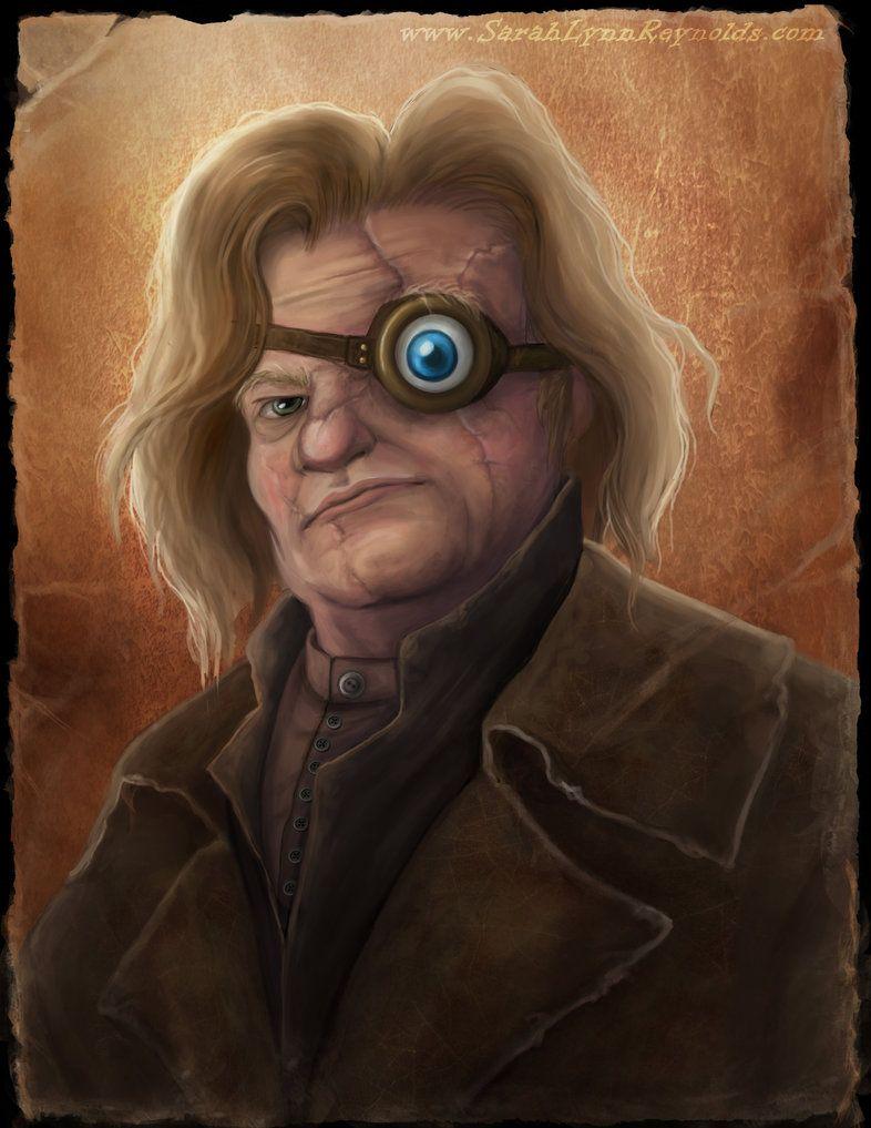 Mad Eye Moody Harry Potter Fan Art Harry Potter Art Drawings Moody Art