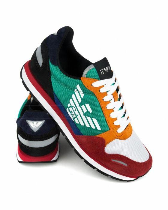 eda0e69afbc12 Zapatillas Emporio Armani - Multicolor Zapatillas Hombre
