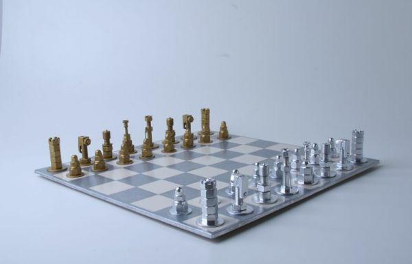 schachfiguren schrauben muttern bolzen
