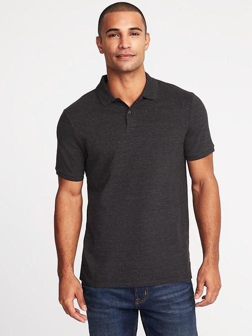 mens navy polo shirt