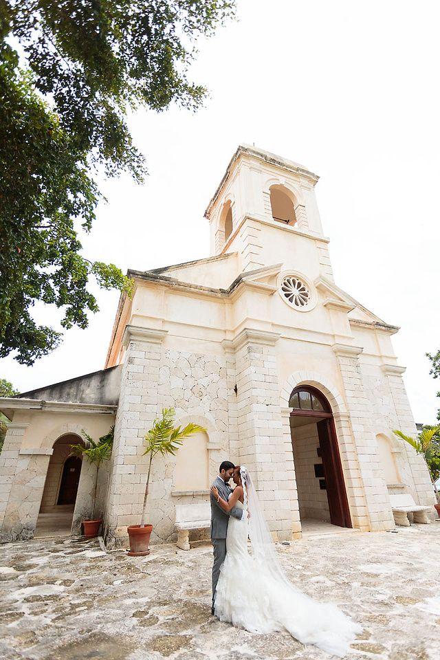 Punta Cana Wedding In Destination Jellyfish Catholic Church