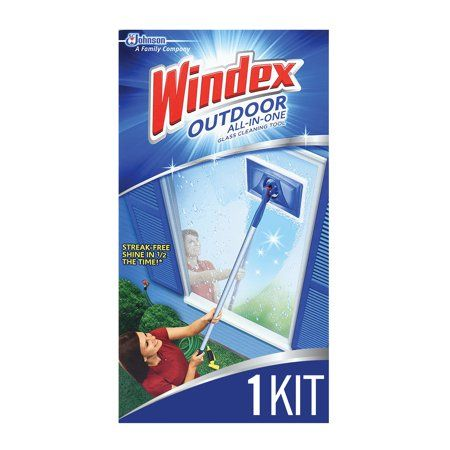 Household Essentials Clean Outdoor Windows Cleaning Window Cleaner
