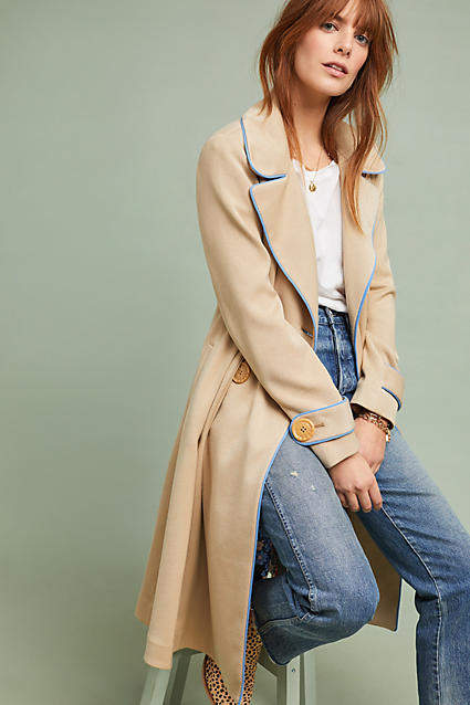 9c381474062144 ett twa Piped Trench Coat  ad  AnthroFave  AnthroRegistry Anthropologie   Anthropologie  musthave  styleinspiration  ootd  newarrivals  outfitideas   wishlist ...