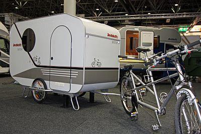 Bicycle Camping Trailer Fiets Vakantie Fiets Kamperen