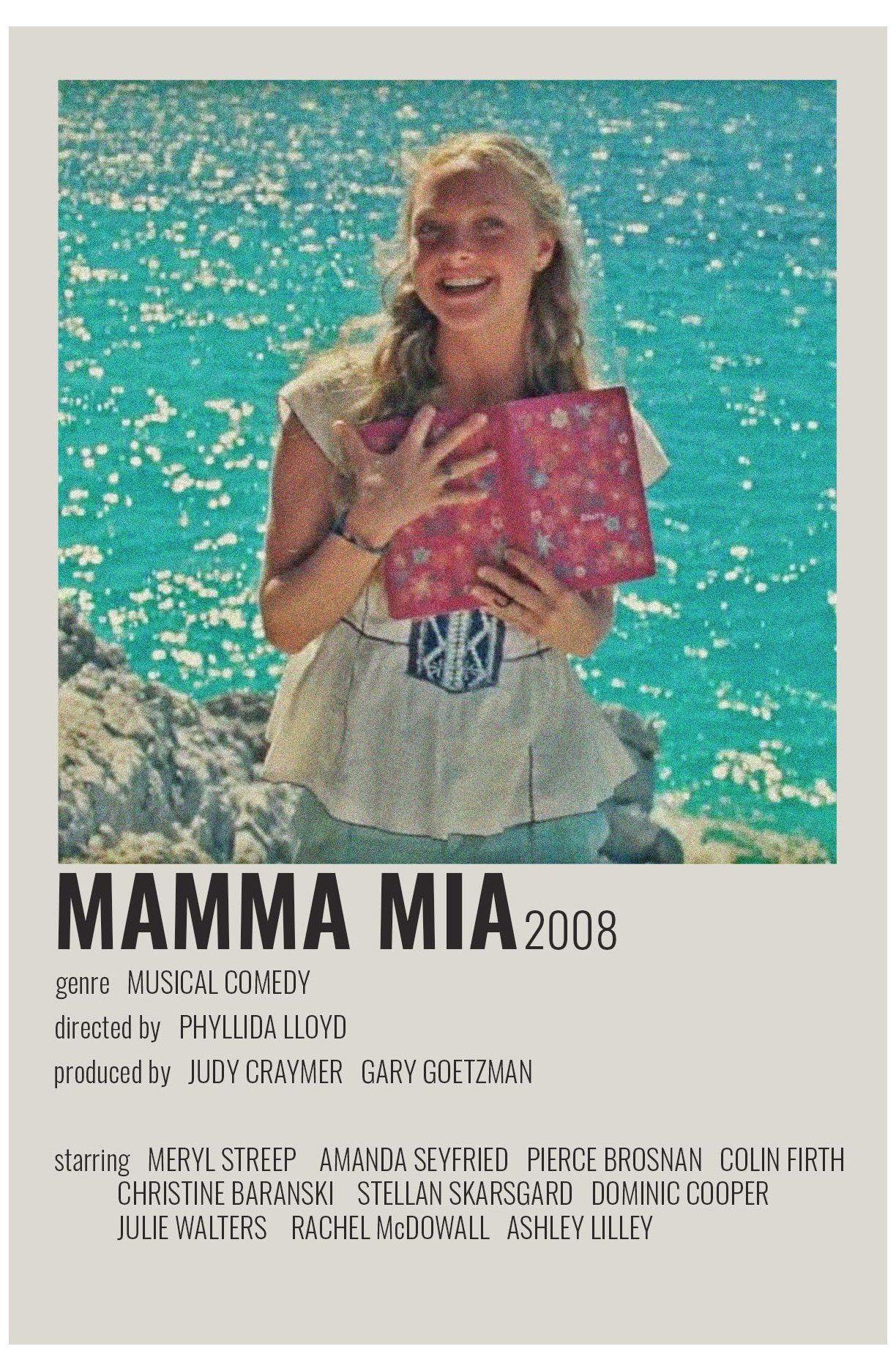 mamma mia movie poster
