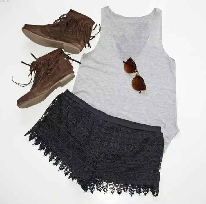 Kleiderkreisel shorts look