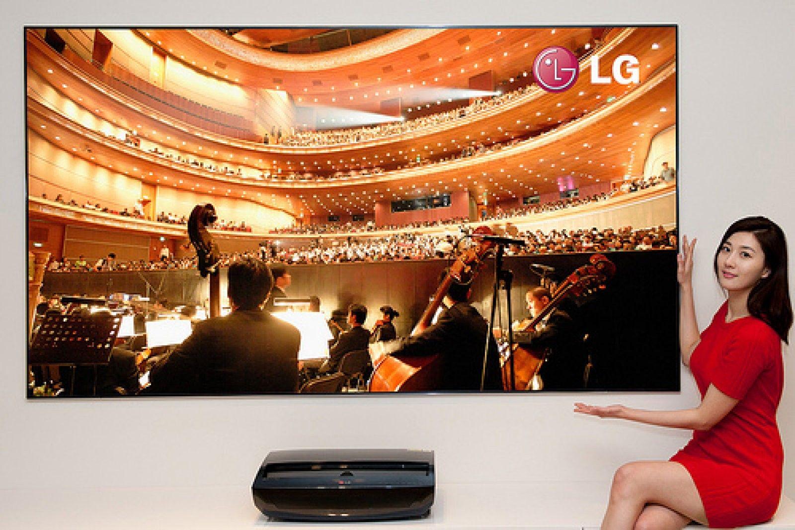 Lg presenta su proyector láser a 1080p oficialmente