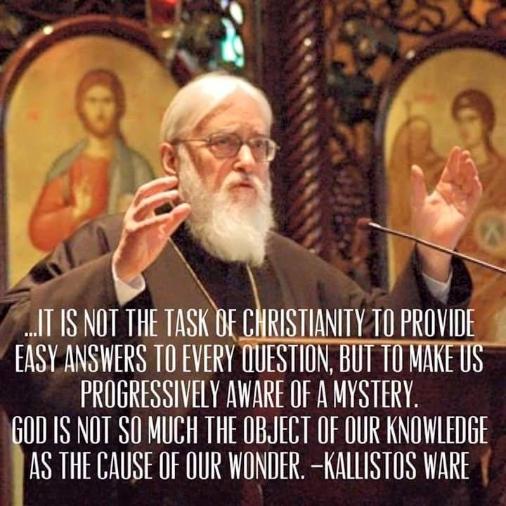 Image result for it is not the job of christianity to provide people with easy answers
