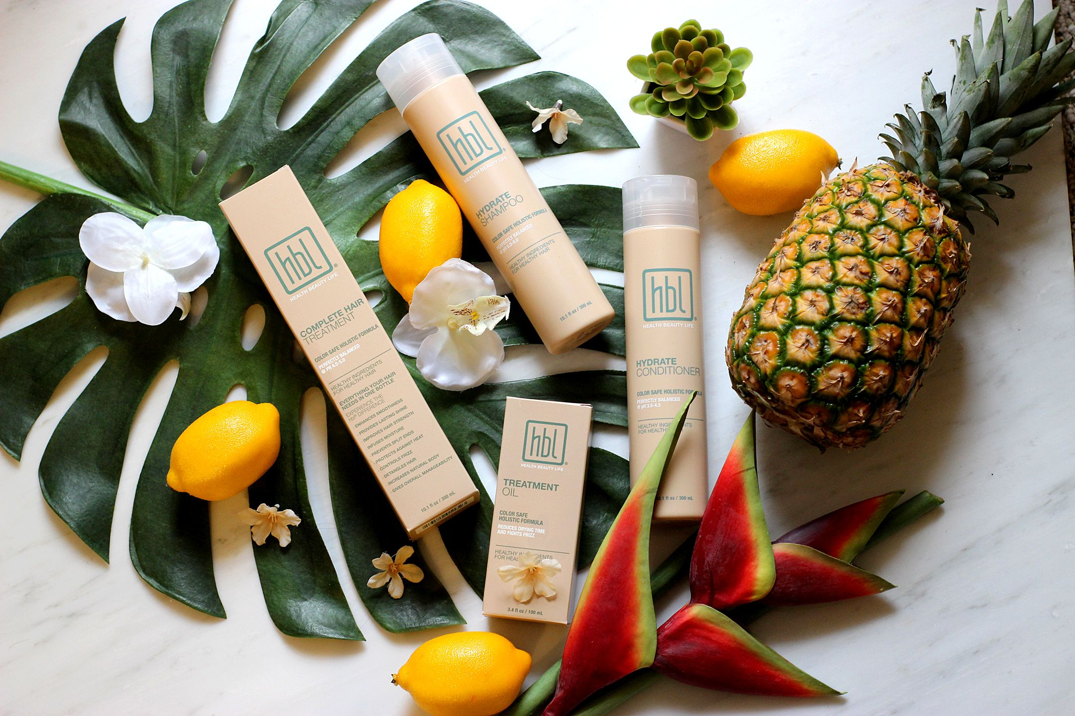 holistic shampoo and conditioner hbl is perfect for summer