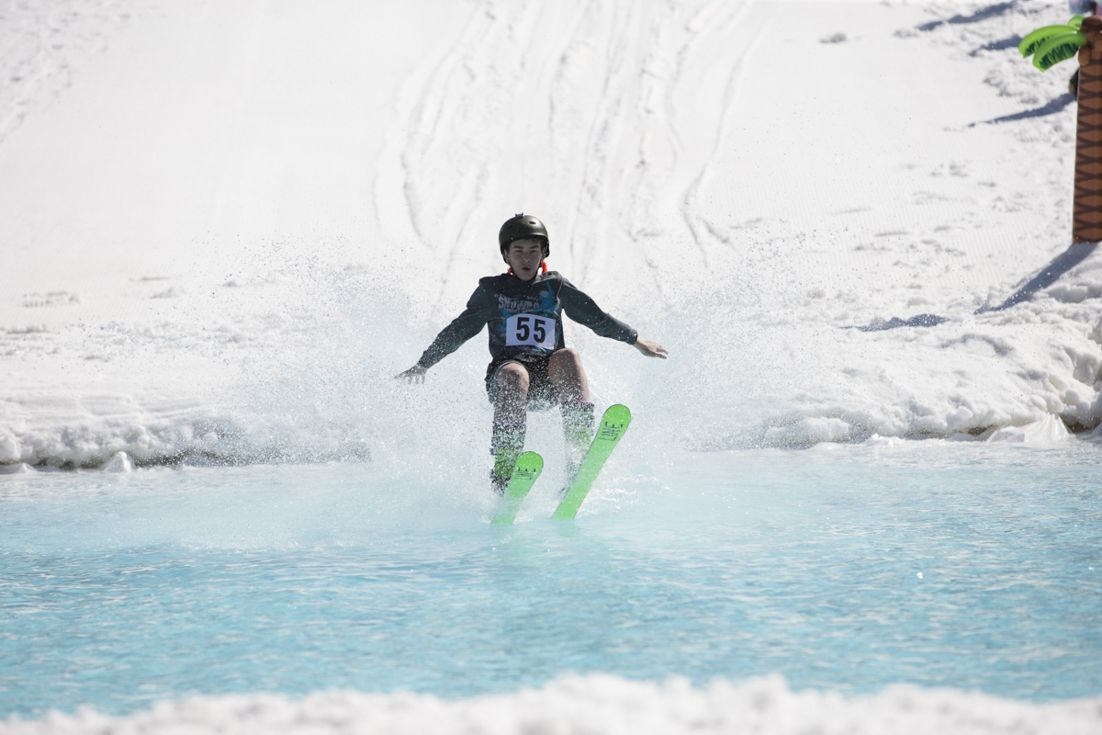 The Snow Plow Luau and Pond Skim! MountainCreek Cool