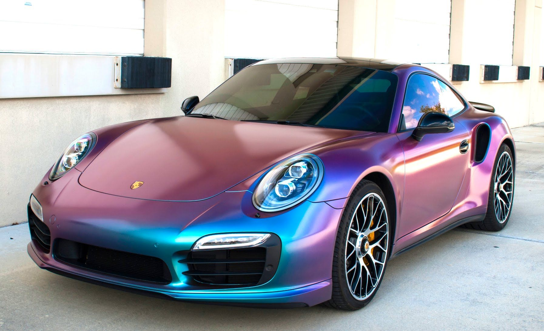 LOVE THE COLOR!!! Color Changing Porsche! YouTube