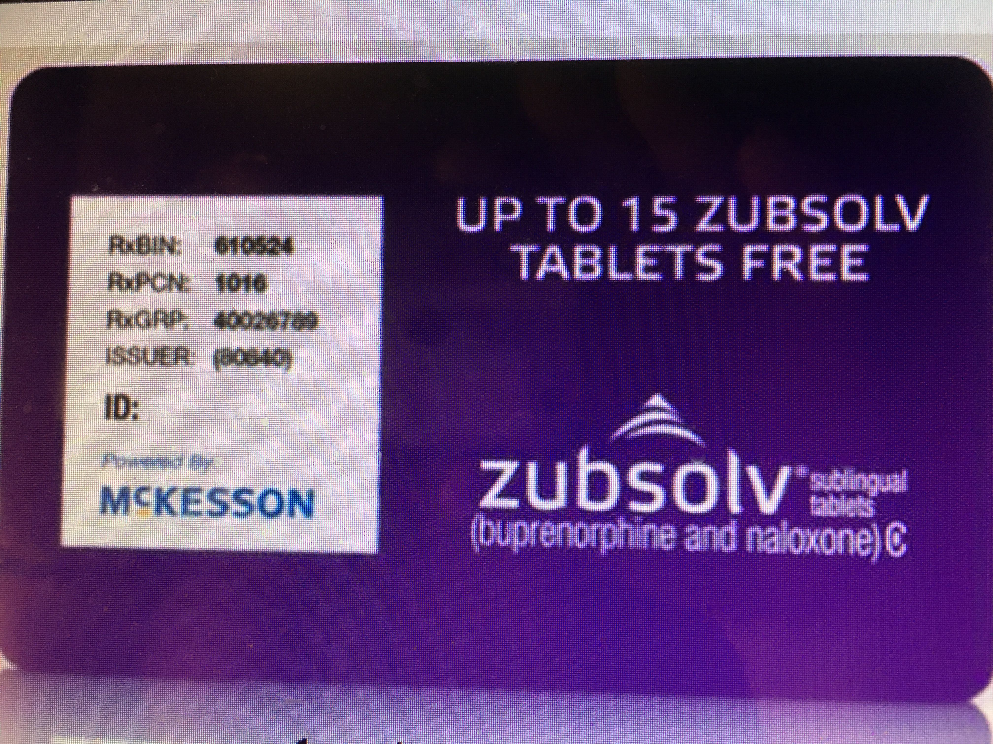 Zubsolv Free Trial Of 15 Tablets May Be Able To Use Twice