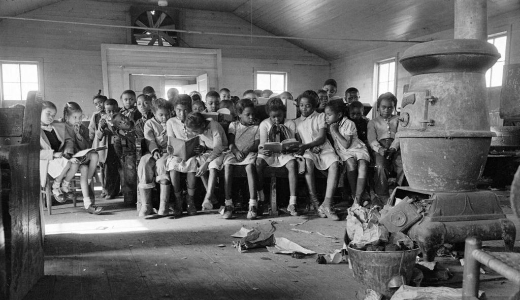 America S Idea Of Separate But Equal One Room Schoolhouse In West Memphis Arkansas Sbe Is A Set Ph African American American History African American History