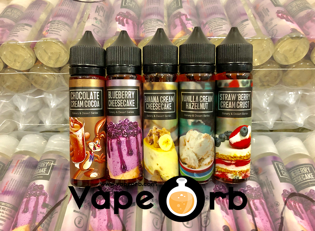 Bakery & Desert Series - Best Buy Malaysia Vapor Juice & Liquid | Sale |  Discount | Cheap | Vape juice, Vape, Banana cream cheesecake