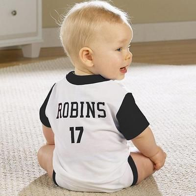 A personalized infant jersey is a great giftidea for a sports a personalized infant jersey is a great giftidea for a sports loving family personalized baby giftsnew negle Images