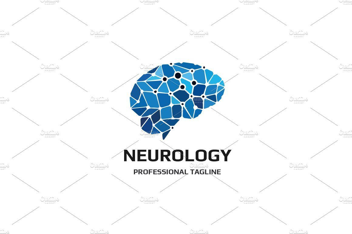 Neurology Logo Modern Logo Design Inspiration Corporate Logo Design Data Logo
