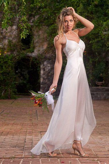 Silk Bridesmaid Dress - Ocodea.com