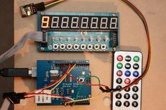 This post describes how to use the Keyes IR Receiver Module in a practical application. The setup used in this experiment is shown in the picture to the right and it includes Arduino UNO card (hidden under an Ethernet shield), a display module JY-LKM1638, a Keyes IR Receiver module and a remote controller. The last two items…