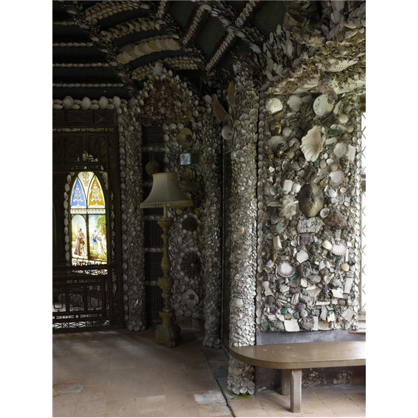 """A Shell Cottage In The Grounds Of Carton House Begun In"