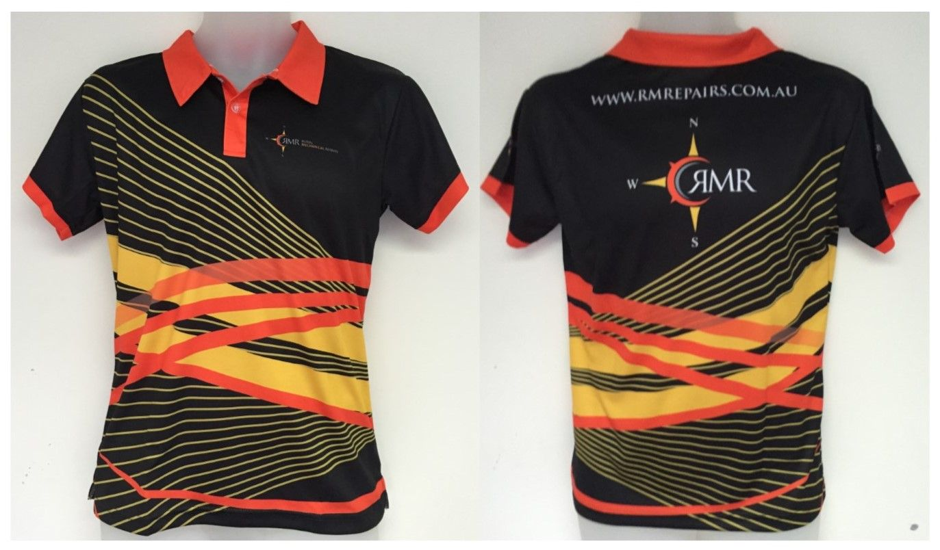 Check out this bright and effective sublimated polo shirt for Design your own polo shirts