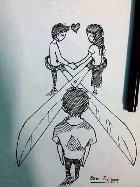 Frasesamor Imagenes De Dibujos A Lapiz De Amor Con Frases