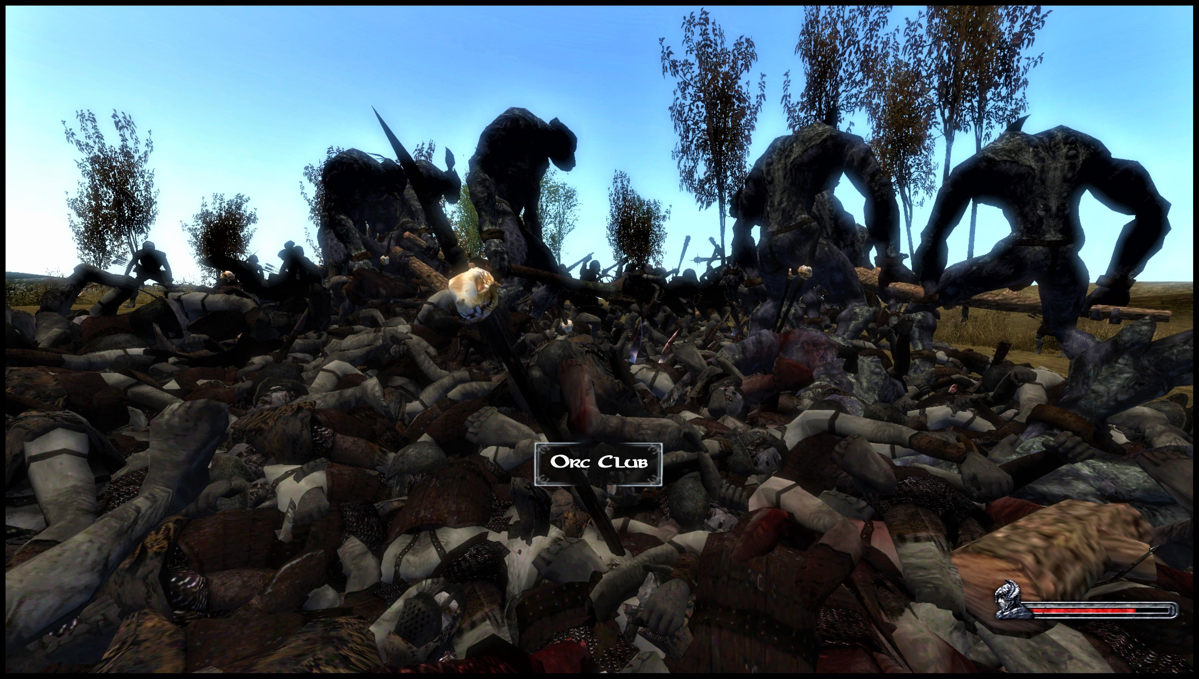 Thousands Of Orcs Fighting 23 Wild Trolls In Tld Lotr Mod For