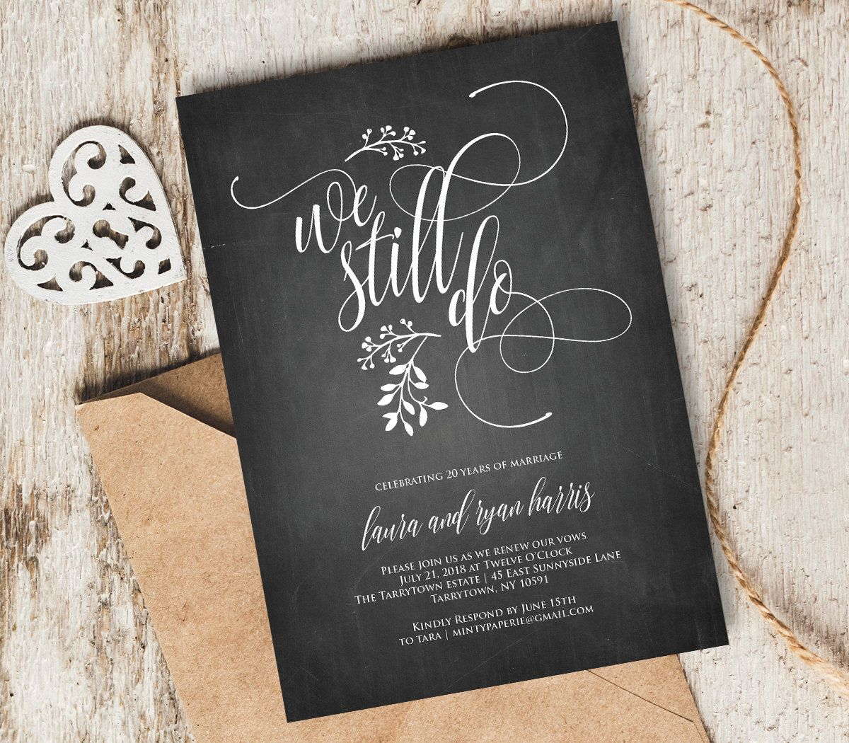 Vow renewal invitation template instant download wedding we still do vow renewal invitation vow renewal wedding invitation wedding anniversary anniversary party invitation renew vows stopboris Choice Image