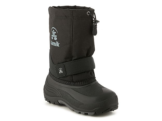 d84c32c420e1 Boys Rocket Toddler   Youth Snow Boot -Black