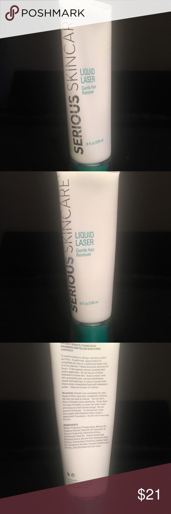 Serious Skin Care Liquid Laser Hair Remover 8 Oz Serious Skin Care Laser Hair Hair Removal