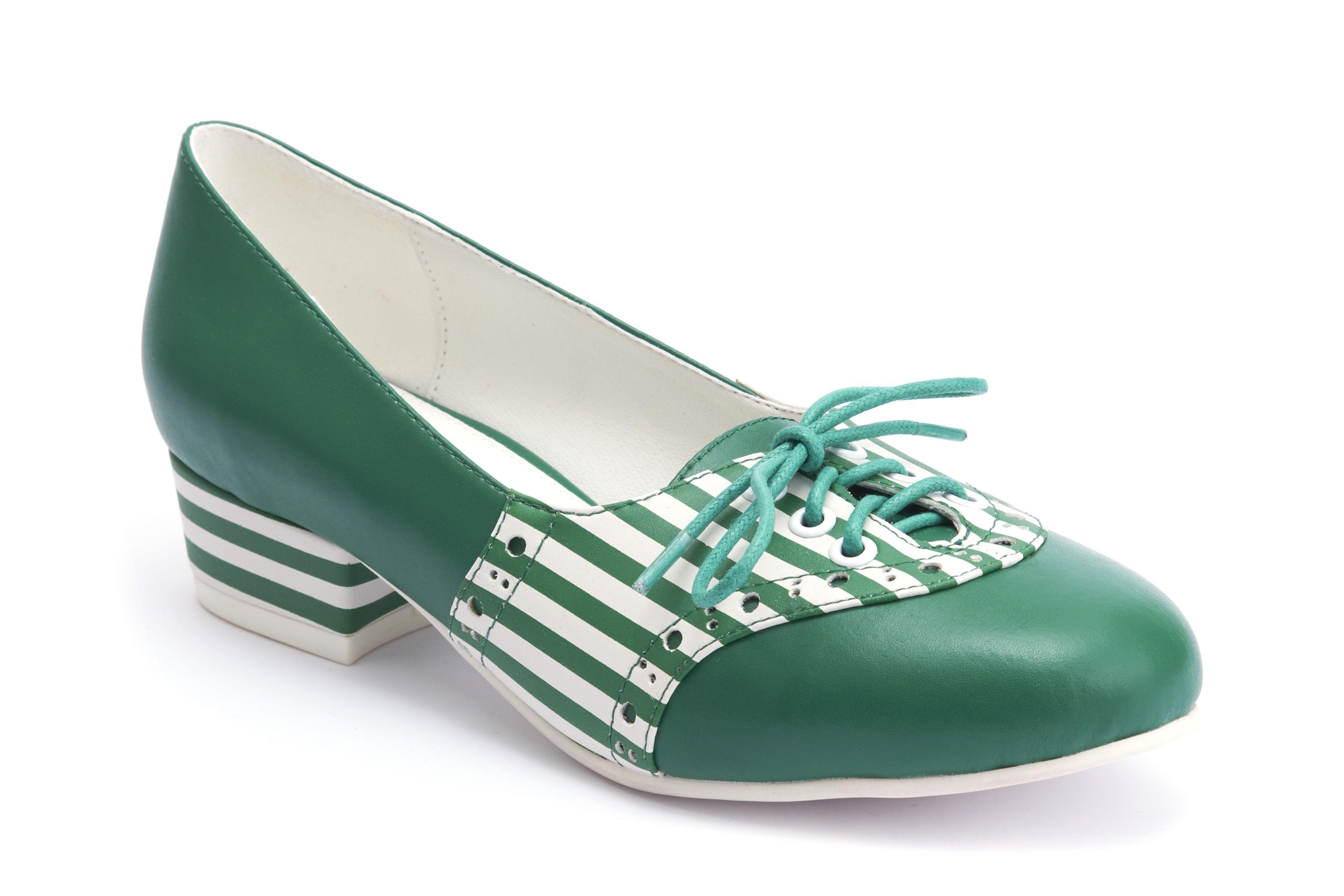 Alice Green Stripes Vegan Shoes Green Stripes Shoes Stripes