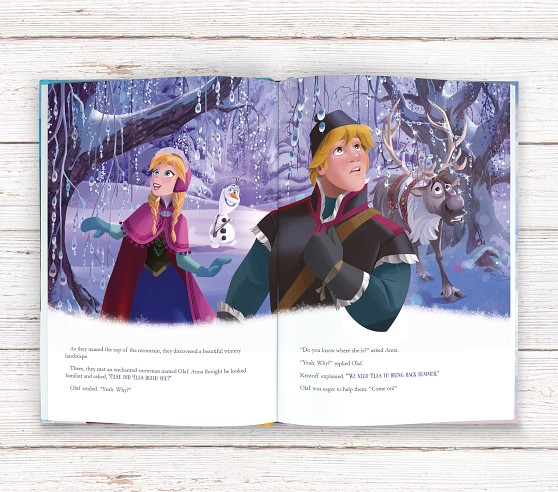 Disney Frozen Personalized Storybook With Images