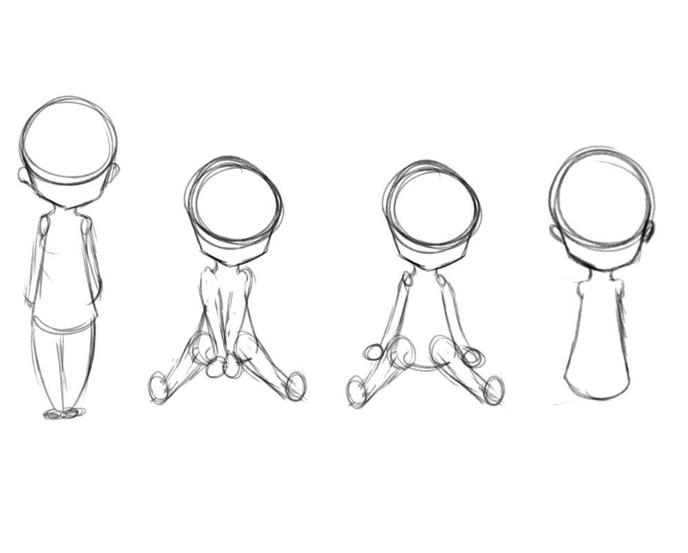Free To Use Chibi Poses By Euphikitten D8wtqab Png 997 802 Chibi Drawings Drawing Tutorial Face Art Reference Poses
