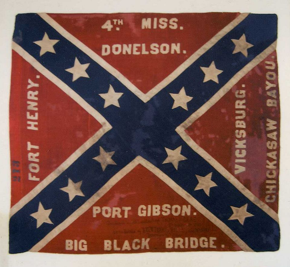 Click This Image To Show The Full Size Version Civil War Flags Civil War American Civil War