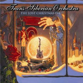 The Lost Christmas Eve CD cover - Trans-Siberian Orchestra Art by Greg Hildebrandt.