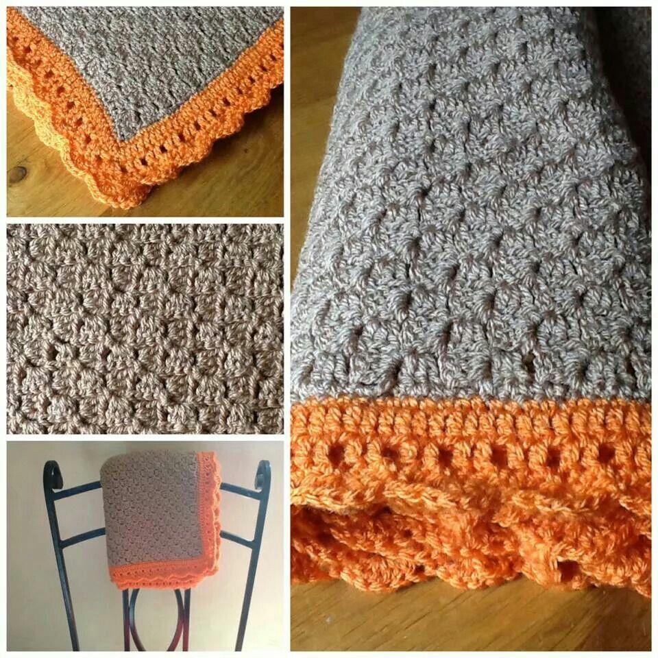 Knitting Pattern Blanket Border : C2c edging *Crochet, Knitting, and Related Pinterest ...