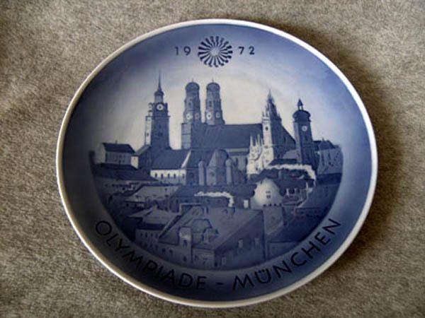Sammelteller Royal Copenhagen Olympia 1972 München