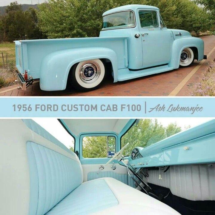 1956 Ford F100 love the interior