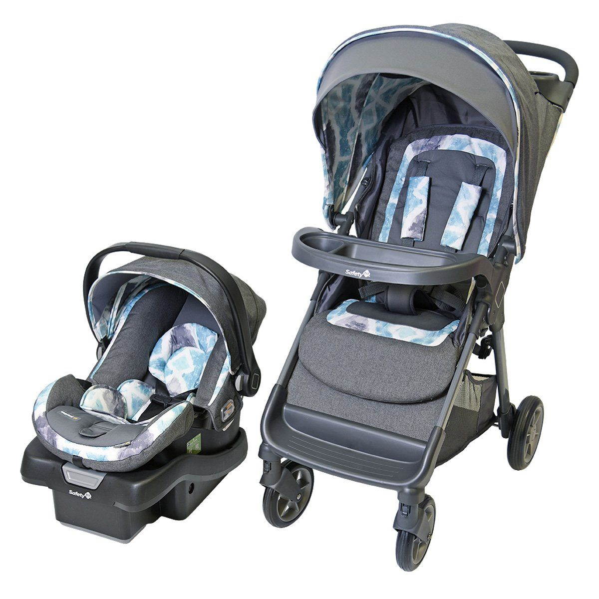 Safety 1st Smooth Ride LX Travel System Reverie Travel