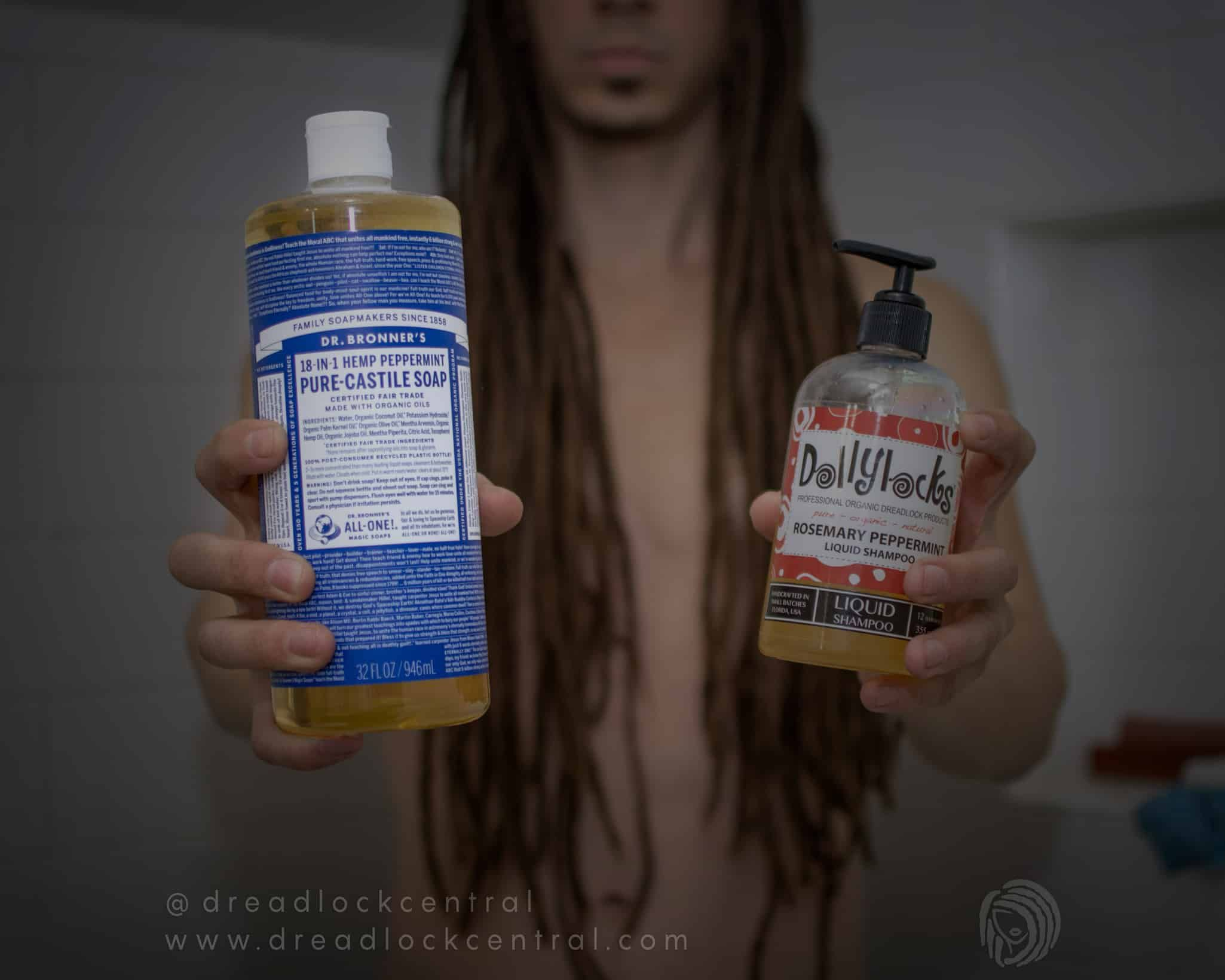 Castile Soap for Dreadlocks – Not as safe and effective as