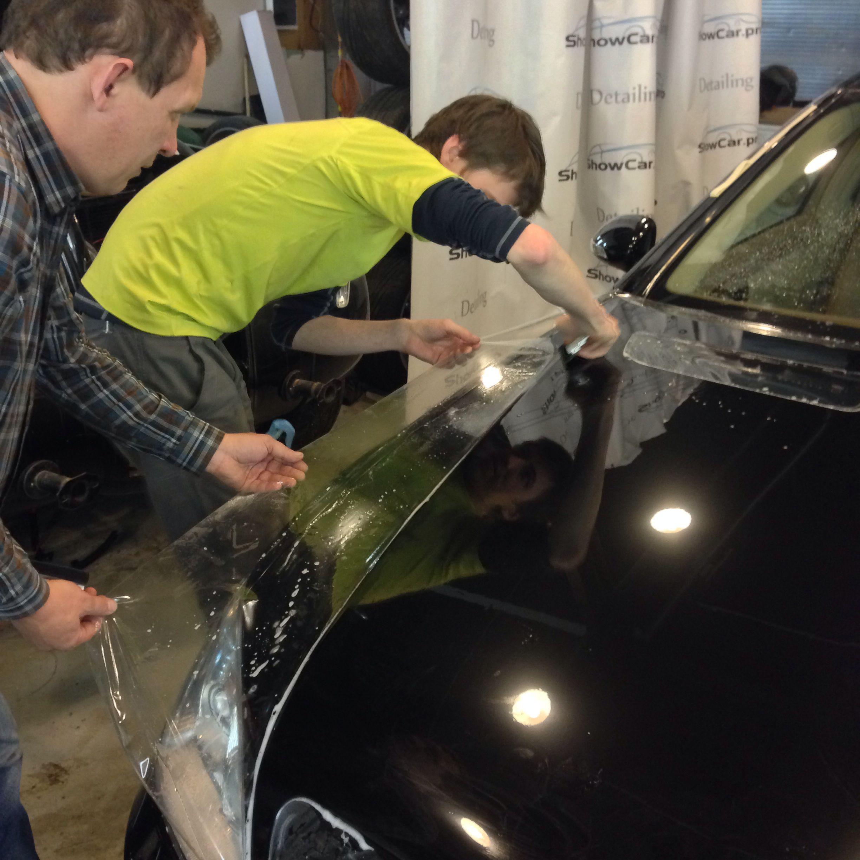 Mercedes w221 PPF Installation.