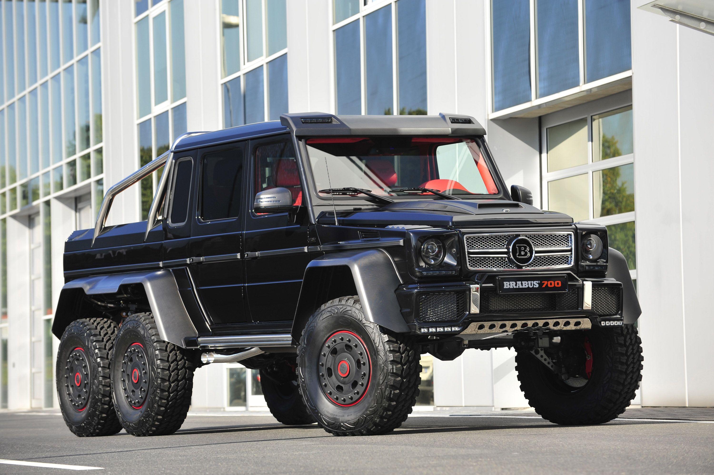 brabus-b63s-mercedes-benz-g-class-6x6 | voitures | pinterest
