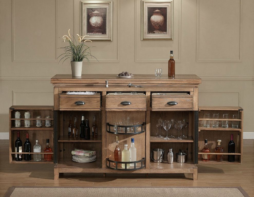 Exceptional Rustic Liquor Cabinet   Free Standing Design Can Be Placed Onto Bar Top Or  You Can Design Inspirations