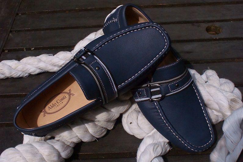 0a9e39aa Zapatos azul #AldoConti #Shoes #AzulMarino #Zapatos #Caballero #Hombre  #Menswear