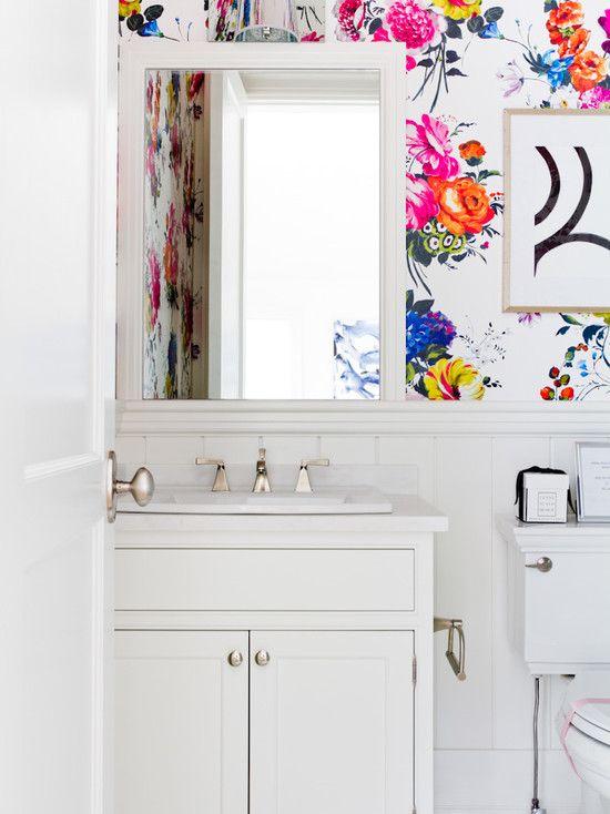 Powder Room Wallpaper Powder Room Wallpaper Home Decor Bathroom Design