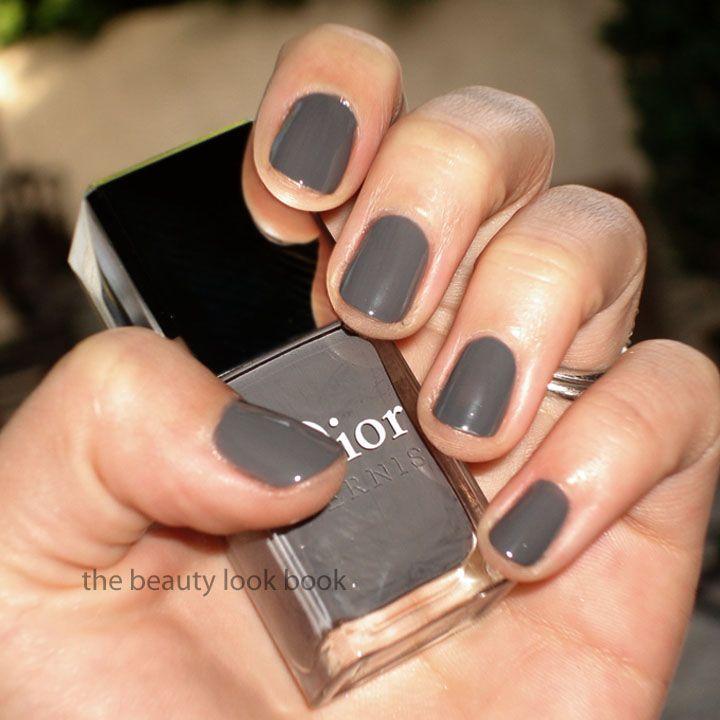 "Greige Nail Polish: Dior ""gris Montaigne"""