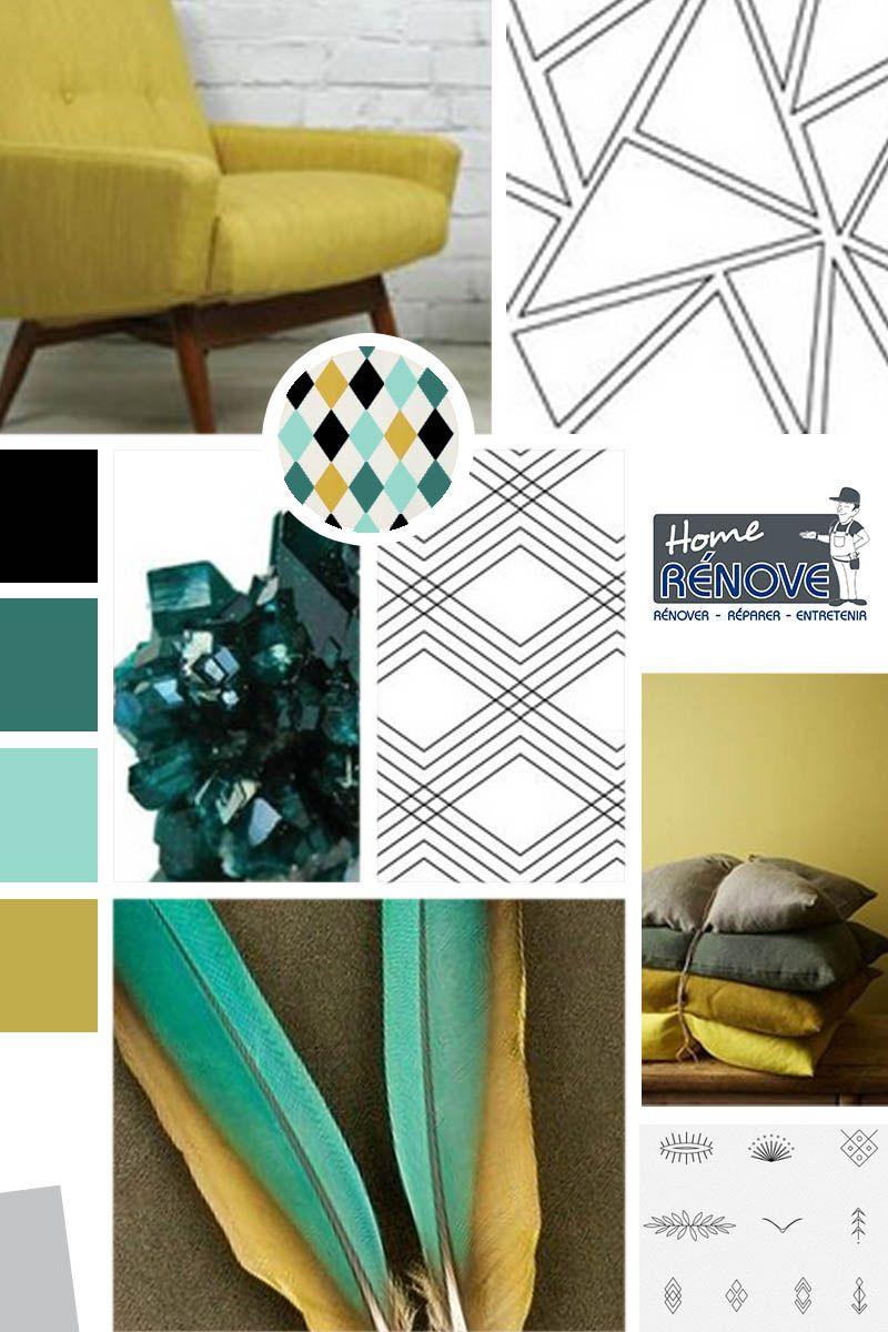 planche tendance cr e pour une entreprise de d coration d 39 int rieur et peinture deco moderne. Black Bedroom Furniture Sets. Home Design Ideas
