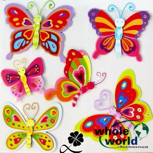 Cheap sticker set, Buy Quality sticker for directly from China stickers and Suppliers: DescriptionIntroducing these great 3D Wall Stickers. Fantastic Designs to choose from your child will love a