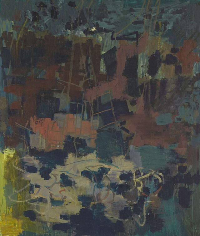 Per Kirkeby Revels In Flamboyancy At Windsor Artnet News Abstract Painting Abstract Painters Nature Art