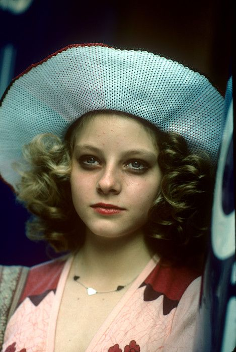 Young Jodie Foster In Taxi Driver In Color Jodie