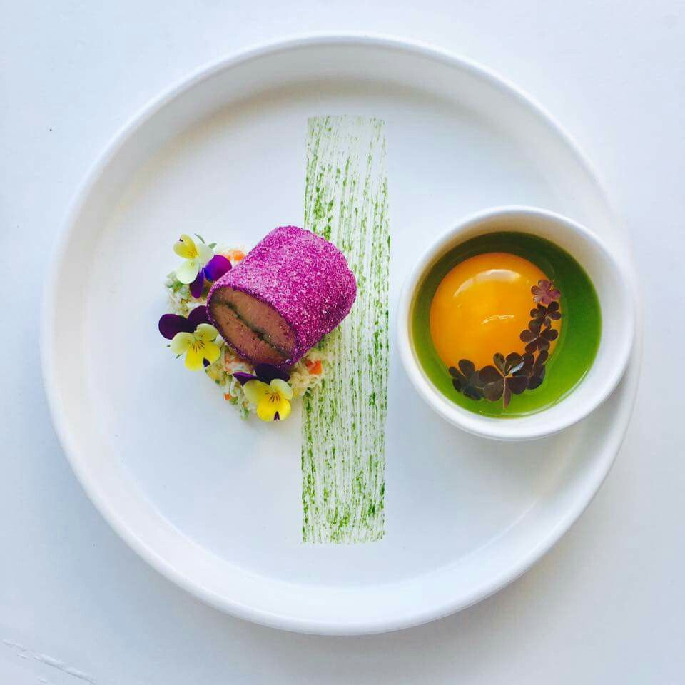 Food plating alta cocina molecular minimalista for Cocina de deconstruccion